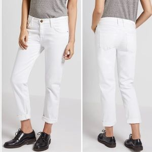 Current Elliot The Fling White Relaxed Fit Jeans